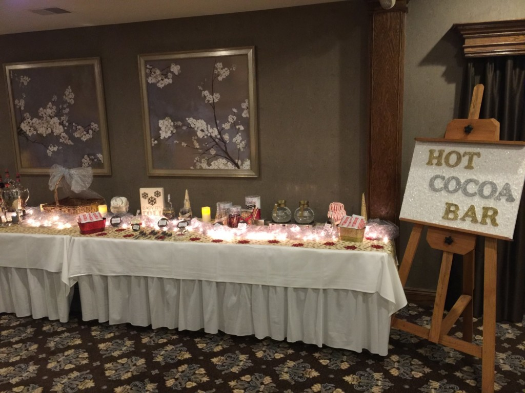 Michigan Wedding At Addison Oaks With A Hot Cocoa Bar